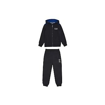 EA7 Boys EA7 Boy's Blue Tracksuit