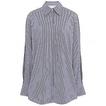 Chemise à manches fendues Victoria Beckham Stripe