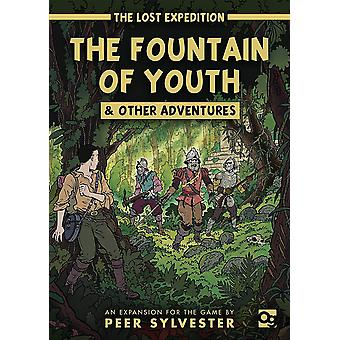 The Lost Expedition The Fountain of Youth & Other Adventures Card Game