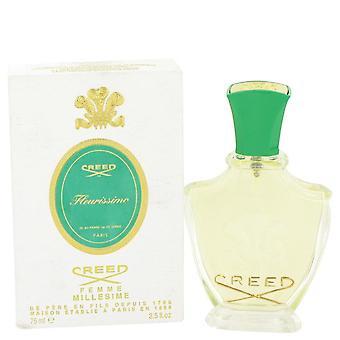 Fleurissimo Millesime Eau De Parfum Spray da Creed 2.5 oz Millesime Eau De Parfum Spray