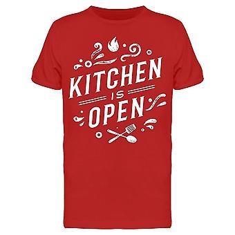 Cocina es abierta camiseta Hombres's -Imagen por Shutterstock