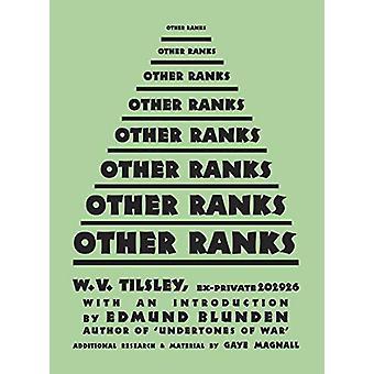 Other Ranks by William Vincent Tilsley - 9781912690183 Book