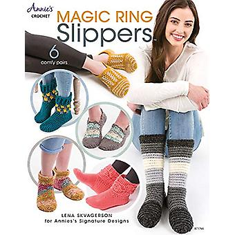 Magic Ring Slippers - 6 Comfy Pairs by Lena Skvagerson - 9781640250901