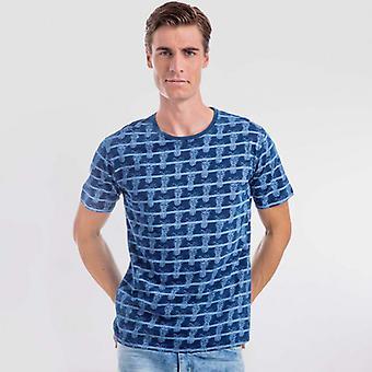 Camiseta azul pina