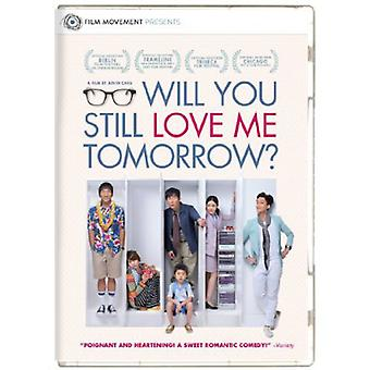 Will You Still Love Me Tomorrow [DVD] USA import