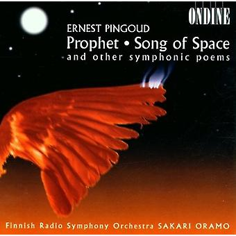 Finnish Radio S - Pingoud: Extinguished Torches; Song of Space [CD] USA import