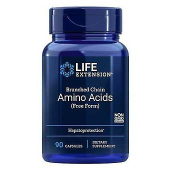 Life Extension Branched Chain Amino Acids 90 Capsules