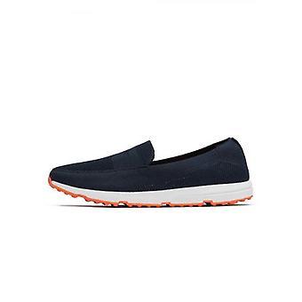 Stekken Navy Breeze penny loafer