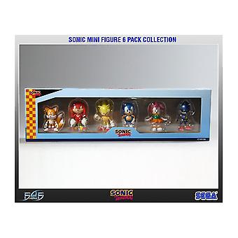 Sonic the Hedgehog Sonic The Hedgehog 6 Pack Mini Figure Collection
