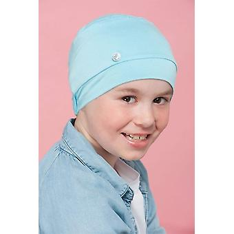 Cancer hats for kids | Millo Blue Kitten