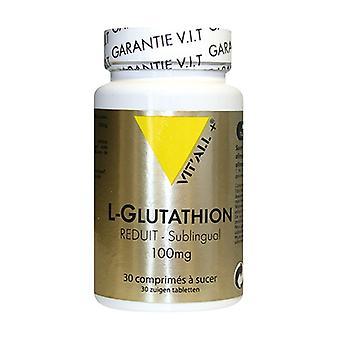 L-glutation Sublingual 100 mg 30 tabletter av 100mg