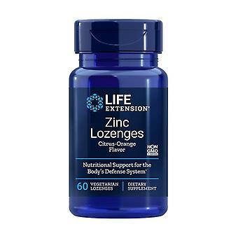 ZInc Lozenges 60 كبسولة نباتية