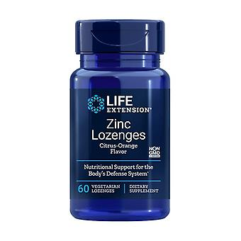 ZInc Lozenges 60 plantaardige capsules