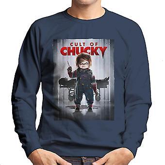 Chucky cultus van Chucky poster mannen ' s Sweatshirt