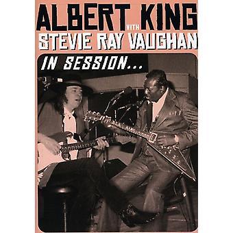 King, Albert & Stevie Ray Vaughan - In Session [DVD] USA import