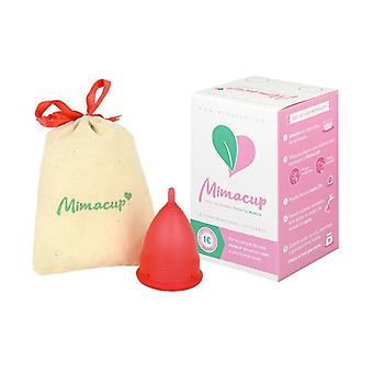 Menstrual Cup Size L (Red) 1 unit