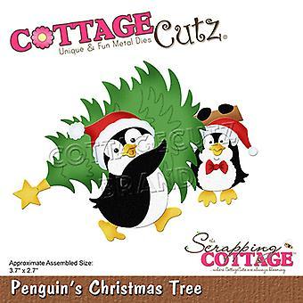 Sloop Cottage Penguins Kerstboom