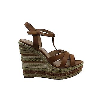 Aldo Womens Nydaycia Leather Open Toe Casual Platform Sandals
