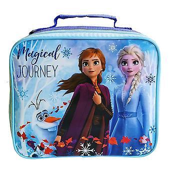 Frozen 2 Childrens/ Kids Rectangular Lunch Bag