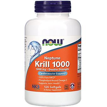 Now Foods, Neptune Krill 1000, 1,000 mg, 120 Softgels