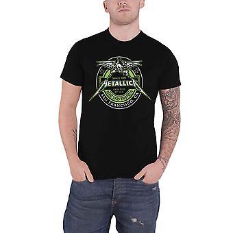 Metallica T Shirt Fuel Band Logo nieuwe Officiële Mens Black