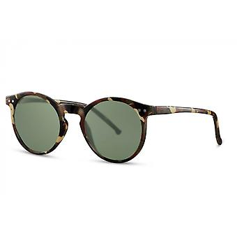 Sunglasses Unisex all around full-edgecated cat. 3 brown / green