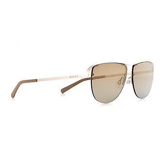 Sunglasses Unisex Sunset pilot gold/brown