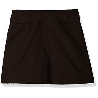 The Children's Place Big Girls' Uniform Skort, Black 3300, 14