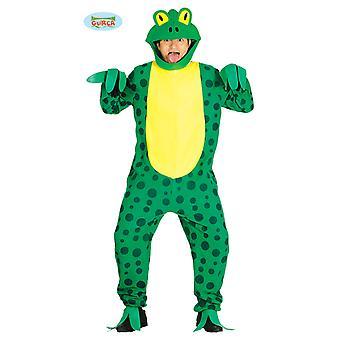 Frosk kostyme for voksen unisex frosk padde padde dyr kostyme amfibier