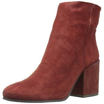 Lucky Brand Womens Ravynn Leather Almond Toe Ankle Fashion Boots