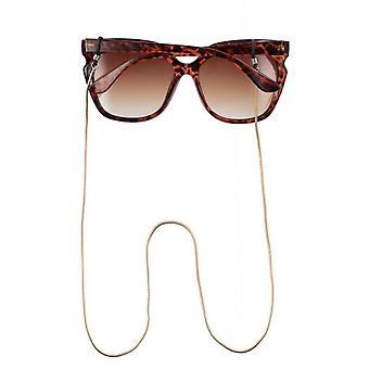 Pasek okularów Unisex 75 cm Złoty (CWI1700)
