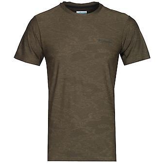 Camiseta da Columbia Maxtrail Sage Sage Green Camo