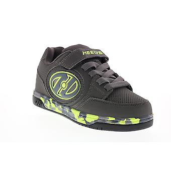 Heelys Plus X2 Lighted  Big Kids Gray Lifestyle Sneakers Shoes