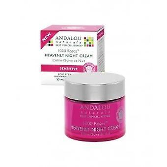 Andalou - 1000 Roses crème de nuit céleste