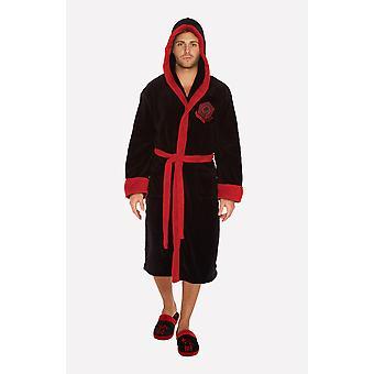 Kylo Ren Black/Red Hooded Bathrobe