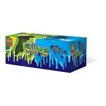 SES Creative Slime Deep Ocean Dual Set Unisex Ages 3 a 12 Years Green/Blue