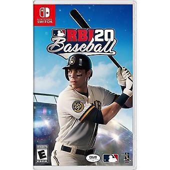RBI Baseball 2020 Switch Game