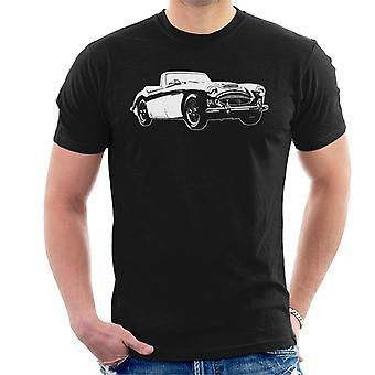 Austin Healey 3000 British Motor Heritage Men''s T-Shirt