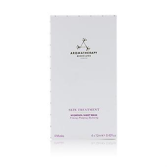 Aromaterapia Associates Ošetrenie kože Hydrosol list maska 4sheets