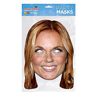 Mask-arade Geri Halliwell Party Mask