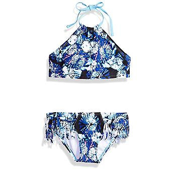 Kanu Surf Big Girls' Mahina Beach Sport Halter Bikini 2-Piece Swimsuit, Okana...