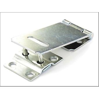 Securit Safety Hasp & Staple Galvanised 150mm S1443