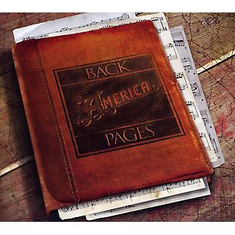 America - Back Pages [CD] USA import