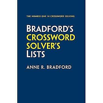 Collins Bradford's Crossworda Solver's Elenchi