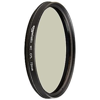 Amazonbasics kruhový polarizační filtr - 72 mm jediný