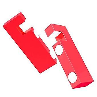 金属磁気折りたたみABSスマートフォンスタンド