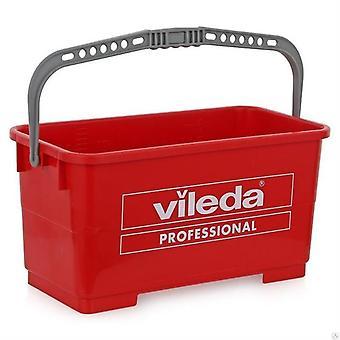 Vileda Evo Wiadro 22l Czerwone 100151 Vileda Professional
