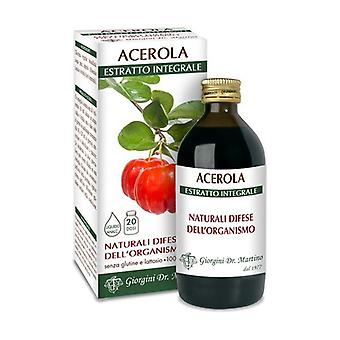 ACEROLA ESTRATTO INTEGR 200ML None