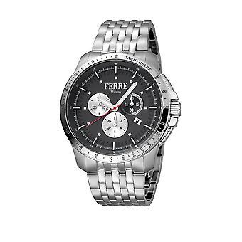 Ferre Milano FM1G078M0071 Men's Dark Blue Dial Stainle Steel  Watch