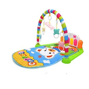 Toys Music Play Mat -kid's Puzzle Carpet With Piano Keyboard